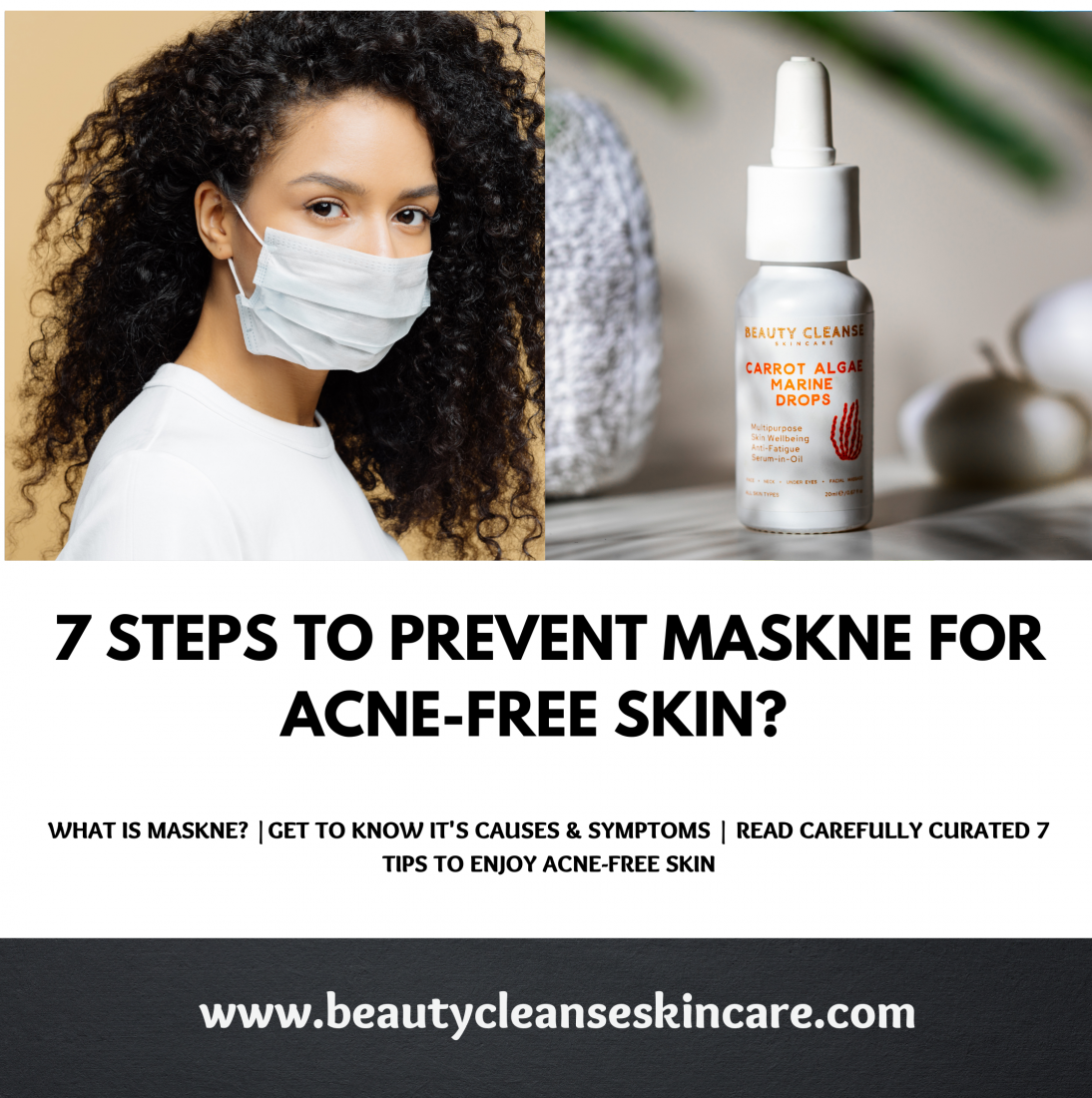 7 Steps to Prevent Maskne for Acne-Free Skin? Get to Know the Causes & Symptoms