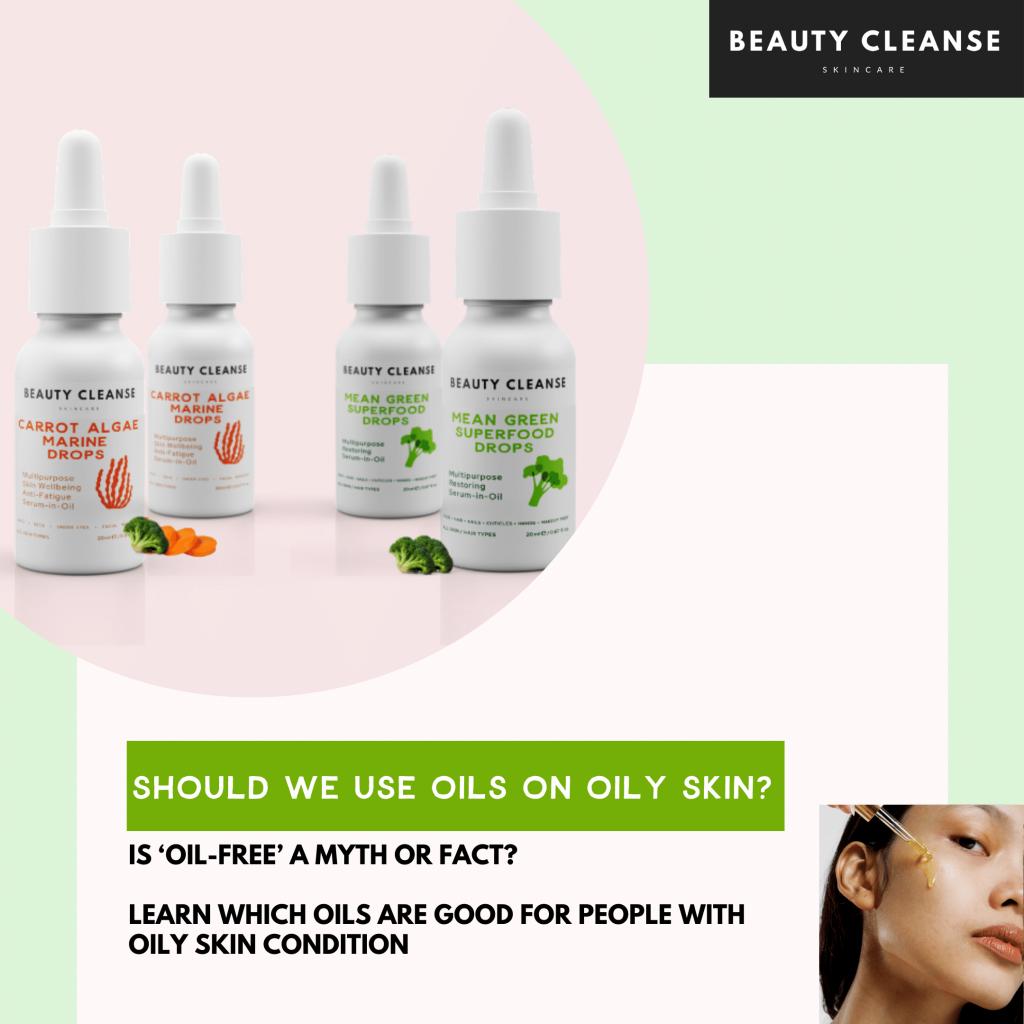 oily skin types