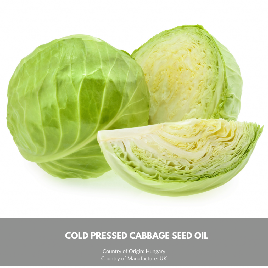 CABBAGE SEED OIL