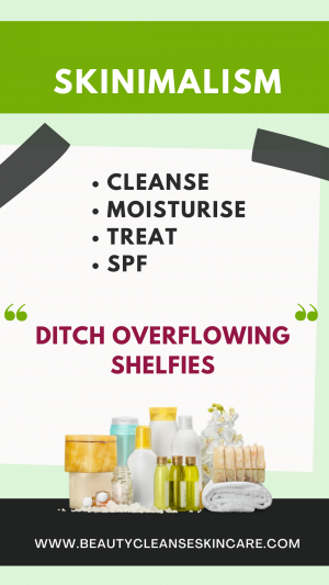 minimalist skincare